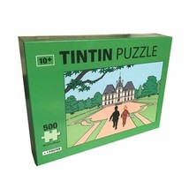 Tintin & The castle of Moulinsart 500 pieces puzzle with poster 50x67cm