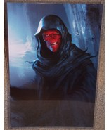 Avengers Infinity War Red Skull Glossy Art Print 11 x 17 In Hard Plastic... - $24.99