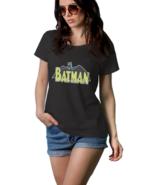 Batman Comic  100% Cotton Black T-Shirt Tees For Women - $13.99+