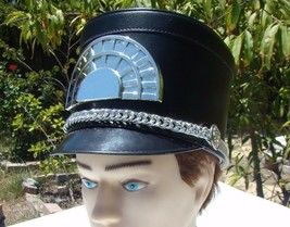 Marching Band Hat Black with silver tones free shipping  Different Sizes - €22,17 EUR+