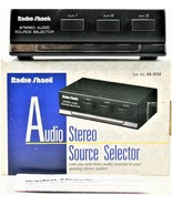 Radio Shack Audio Stereo Source Selector   with RCA Connectors 42-2112 - $19.79