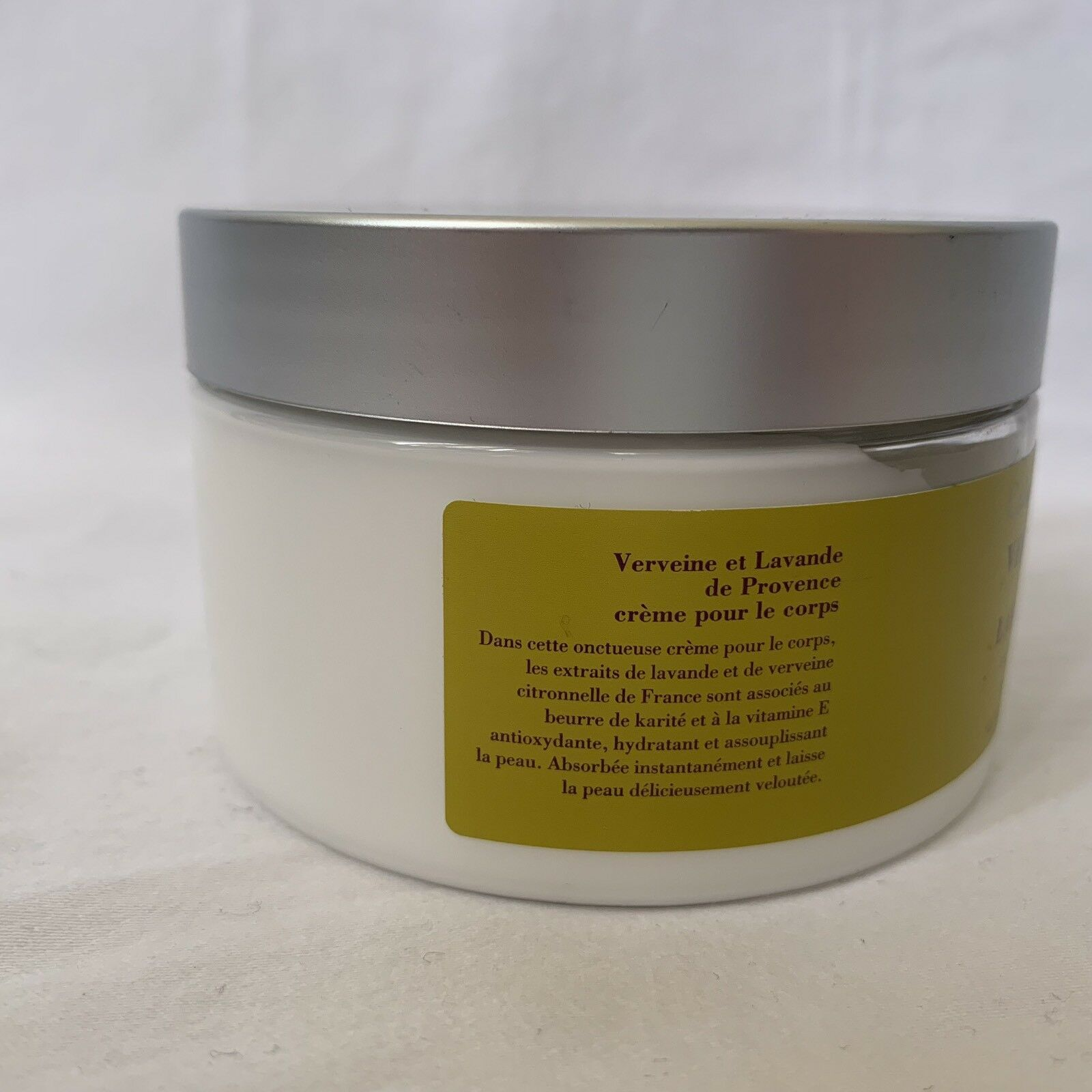 NIP Crabtree & Evelyn Verbena And Lavender De Provence Body Cream 8.8oz Jar