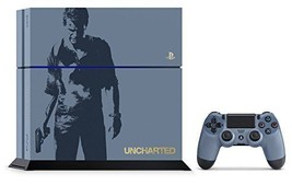 kb09 NEW PS4 Uncharted Limited Edition Console set Gray blue Dualshock4 ... - $497.09