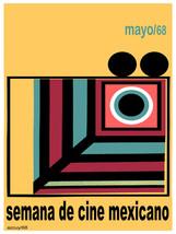 Semana de cine mexicano Documental Decor Poster.Graphic Interior design.... - $11.30+