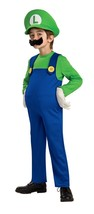 Rubies Nintendo Super Mario Luigi Deluxe Boys Child Halloween Costume 88... - $26.99