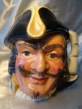 Vintage Captains Henry Morgan Toby Character Pottery Jug  Royal Doulton ... - $154.42