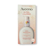 Aveeno Ultra-Calming Daily Moisturizer SPF 15 120 ml 4 oz Exp 6/2021 - $14.84