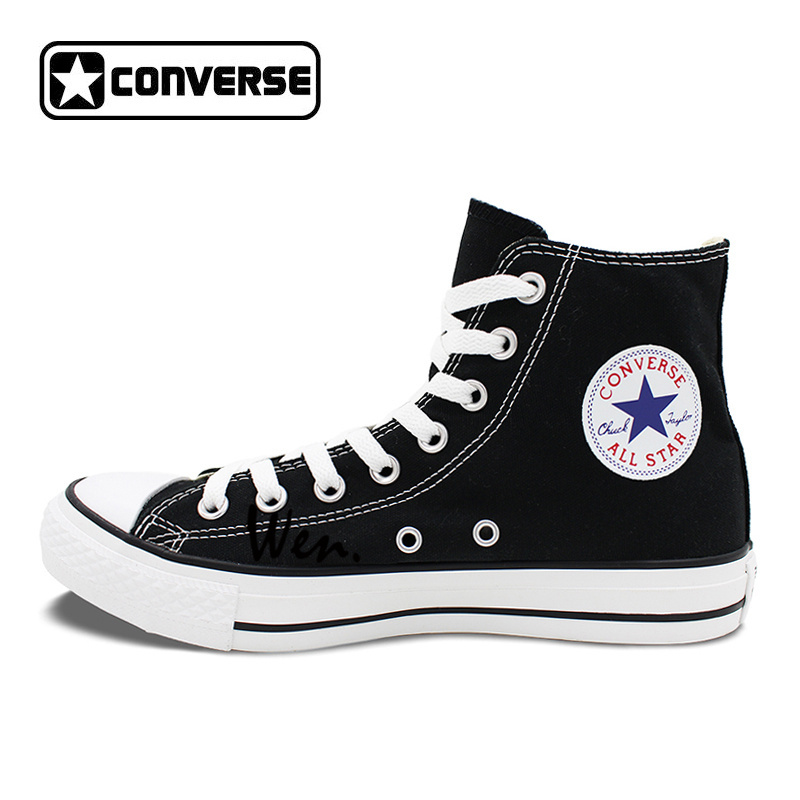 30826795bbe3 Men Women Sneakers Design Totem Eagle Canvas Shoes Black Converse All Star