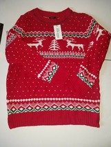"""Meaneor Women""""s Christmas Sweater Polyester/Acrylic Size XL - $24.99"""