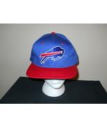 Vtg-1990s Buffalo Bills Grand / Largo Casquette Snapback Logo Hat-New Era - $37.10