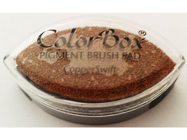 Colorbox Pigment Cat Eye Ink Pad, Copper Swift