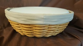 Longaberger 2005 SERVE AROUND BASKET Combo Liner Plastic Protector With Lid - $49.95