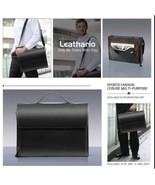 Leathario Sac en Cuir Malette Portable Mode pour Homme Conçu pour Travail - $410.63