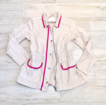 Children's Place TAN JACKET Girls L Trench coat - $34.00