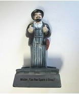 Vintage Box Car Willie Mister, Can You Spare a Dime Coin Bank - $9.99
