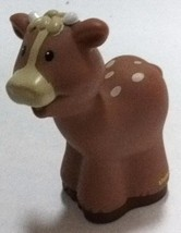 Fisher Price Little People Cow Christmas Story Nativity Replacement Figu... - $1.96