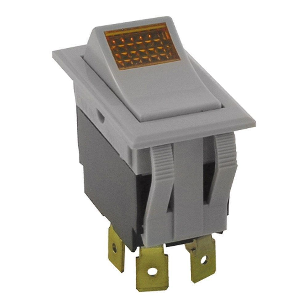 Primary image for SWITCH ON/OFF LIGHTED (DPST, GREY) WELLS 55127 STAR MFG 2E-35127 WS-55127