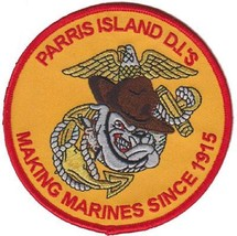 Usmc Paris Island D.I.'s Making Marines Since 1915 Patch New!!! - $11.87