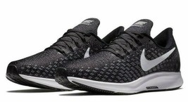 Nike Men's Black Gray Air Zoom Pegasus 35 TB Running Shoes Size 8.5 AO39... - $65.00