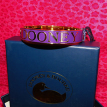 Dooney & Bourke Purple Bangle Bracelet New & Gift Boxed