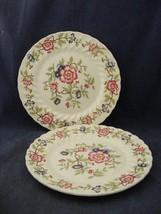 "2 Franciscan Mandarin 9.75"" Dinner Plates Mint Condition Staffordshire E... - $19.95"