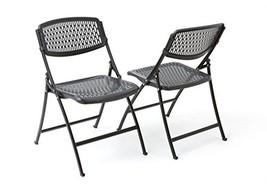 Mity-Lite Flex One Folding Chair, Black, 4-Pack - $96.86
