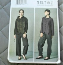 Pattern Vogue Designer Jacket & Pants March Tilton V9035 Uncut Factory F... - $9.79