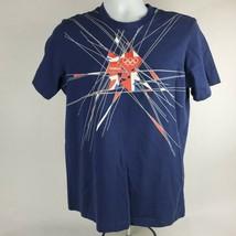 Olympics Mens T-Shirt Sz M Med Official London 2012 Olympic Short Sleeve... - $19.64