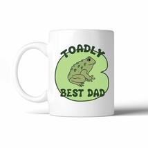 Toadly Best Dad 11 Oz Ceramic Coffee Mug - $14.99