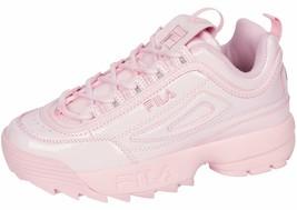 NIB*Fila Disruptor II Premium Sneaker*Patent pink*Size 6-10 - $139.00