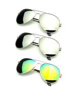 Bundle Of Sunglasses Bundles 3 Pairs Silver Gold Mens Womens Sun Glasses... - $25.60