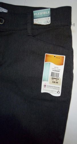 Lee Relaxed Fit at the Waist Womens Size 14 Short Grey Denim Jeans Pants (34x32) image 8