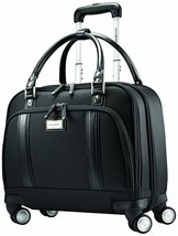 Samsonite Luggage Women's Spinner Mobile Office, Black, One Size - $198.60