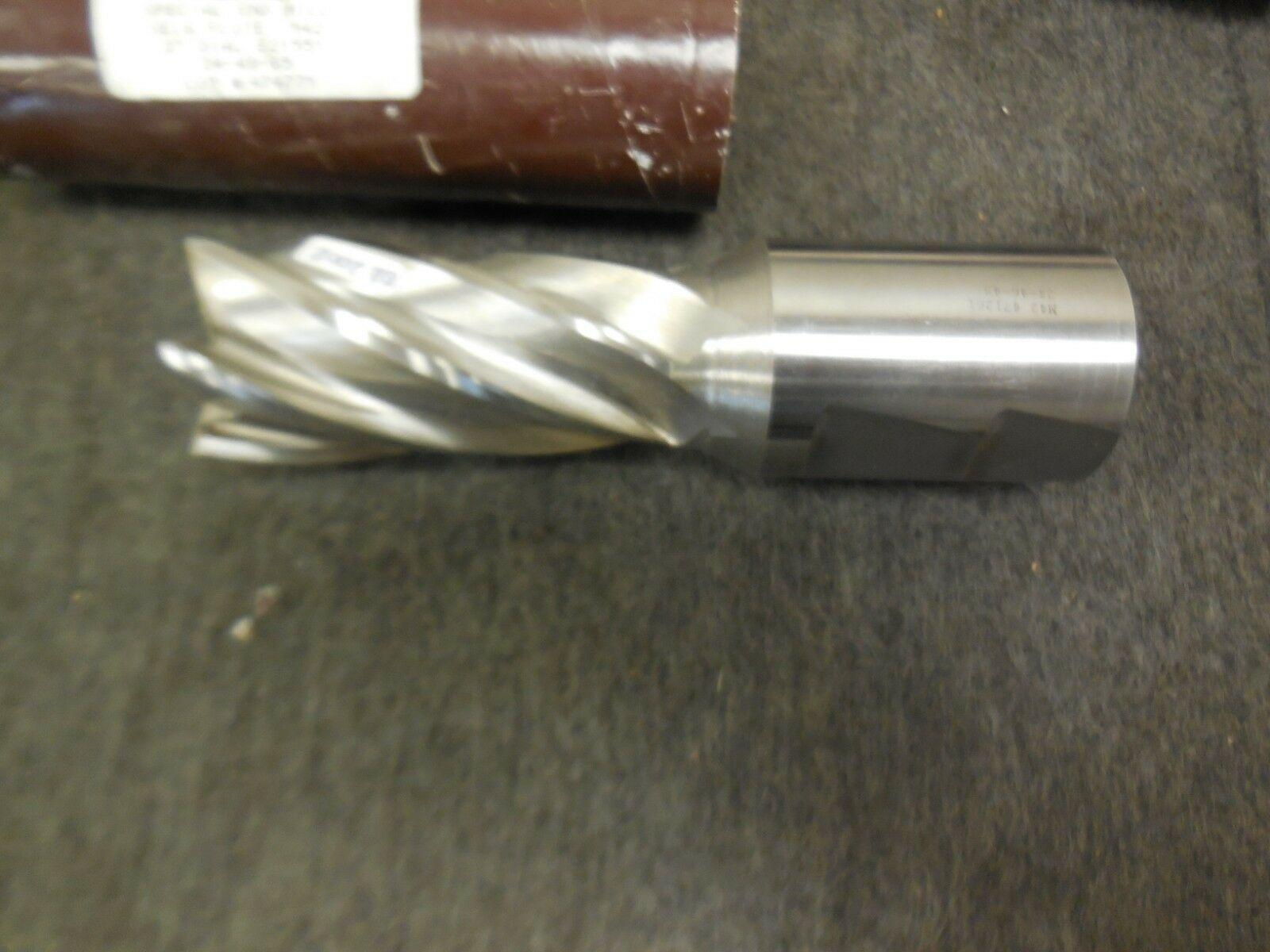 "24-49-65 Monitor Special End Mill SE.6 Flute M42 2"" Diameter E21551 471261 New"