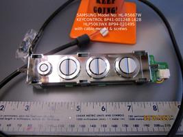 Samsung HL-R5667W - Key Control Button BP41-00124B L62B HLP5063WX BP94-02149S - $14.95