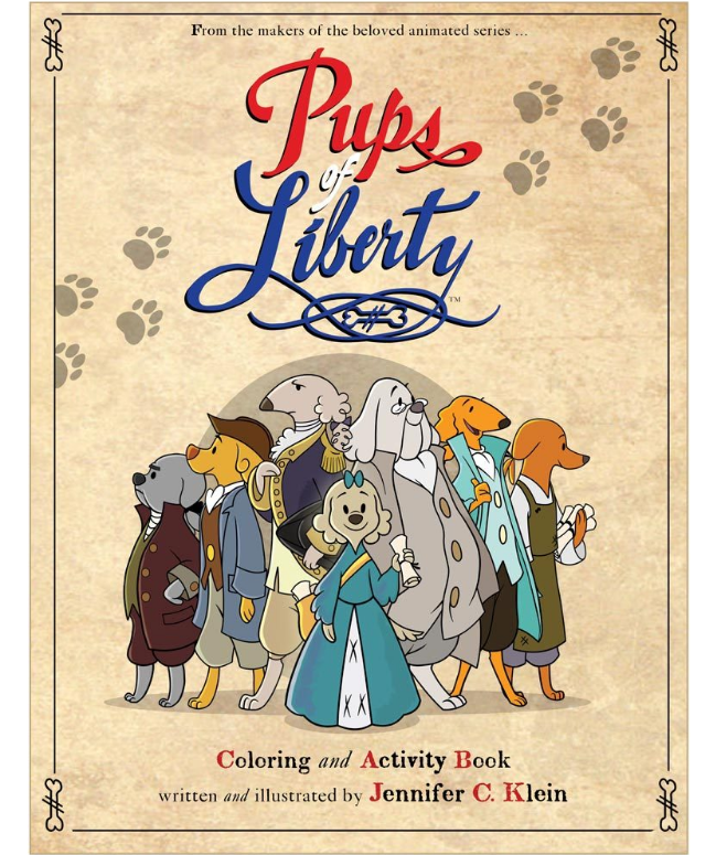 Pups of Liberty: Activity Book