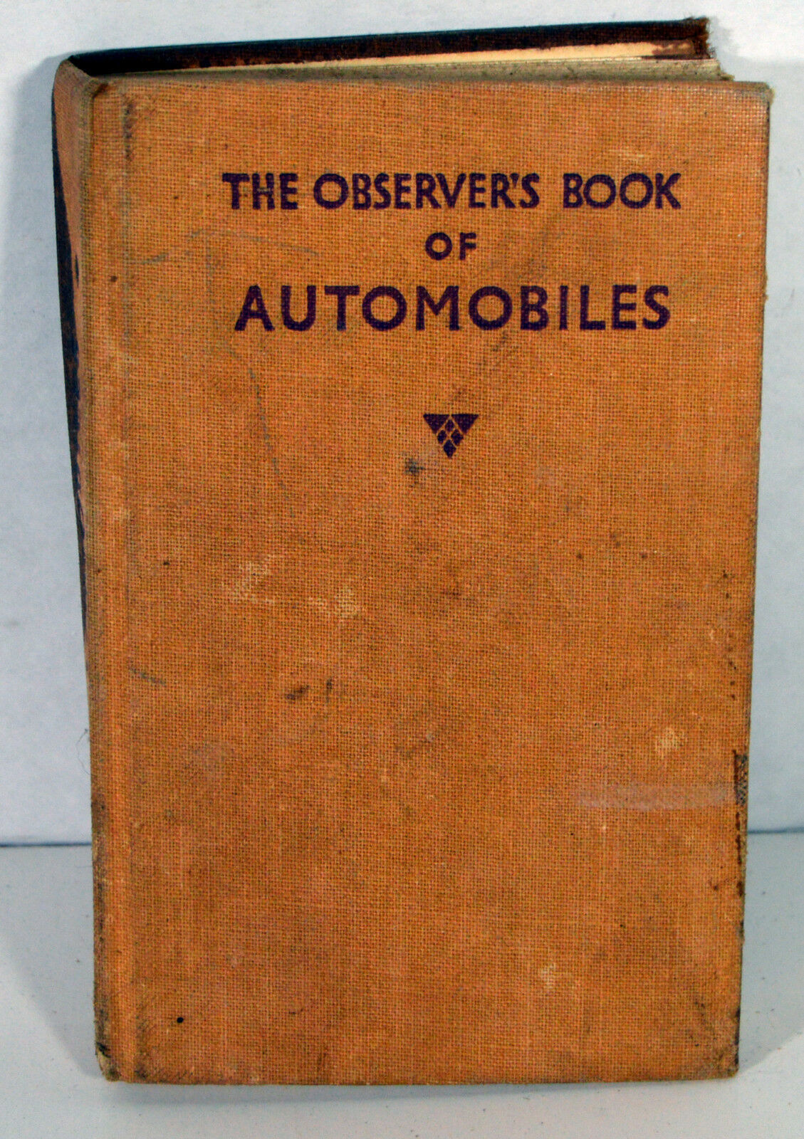 1955 Observer's Book of Automobiles 1st Edition Cars History Buick De Soto Ford