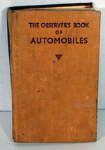 1955 Observer's Book of Automobiles 1st Edition Cars History Buick De So... - $37.99