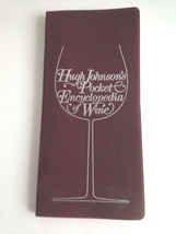 HUGH JOHNSON'S POCKET ENCYCLOPEDIA OF WINE, VINTAGE SOFTCOVER BOOK 1979 ... - $7.81