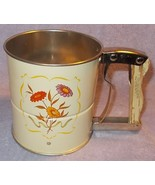 Vintage Androck Three Screen Handy Flour Baking Sifter - $11.95