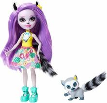 Enchantimals Larissa Lemur & Ringlet Dolls - $9.89