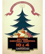 Wall Decor Poster.Home room interior art design.Christmas Shopping.Gifts... - $10.89+