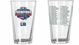 New England Patriots Super Bowl LIII 53 Champions  16 Ounce Pint Glass  - $28.04