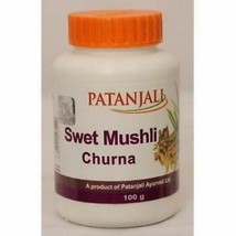 Patanjali Safed Musli Powder HERBAL EDH SWET MUSHLI Churna (Pack of 3) - $32.23