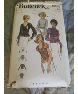 Butterick 6339 Size 12 Misses Blouses Sewing Pattern - $6.99