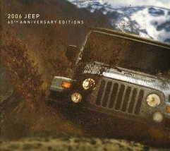 2006 Jeep 65th ANNIVERSARY EDITIONS brochure catalog US 06 Wrangler Liberty - $9.00
