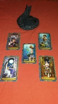 Wizards Tarot Reading with FIVE CARDS make best possible choice. Divination - $25.55