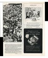 Kleenex Little Lulu Cartoon DeJur Exposure Meter 1947 Antique Advertisement - $1.50