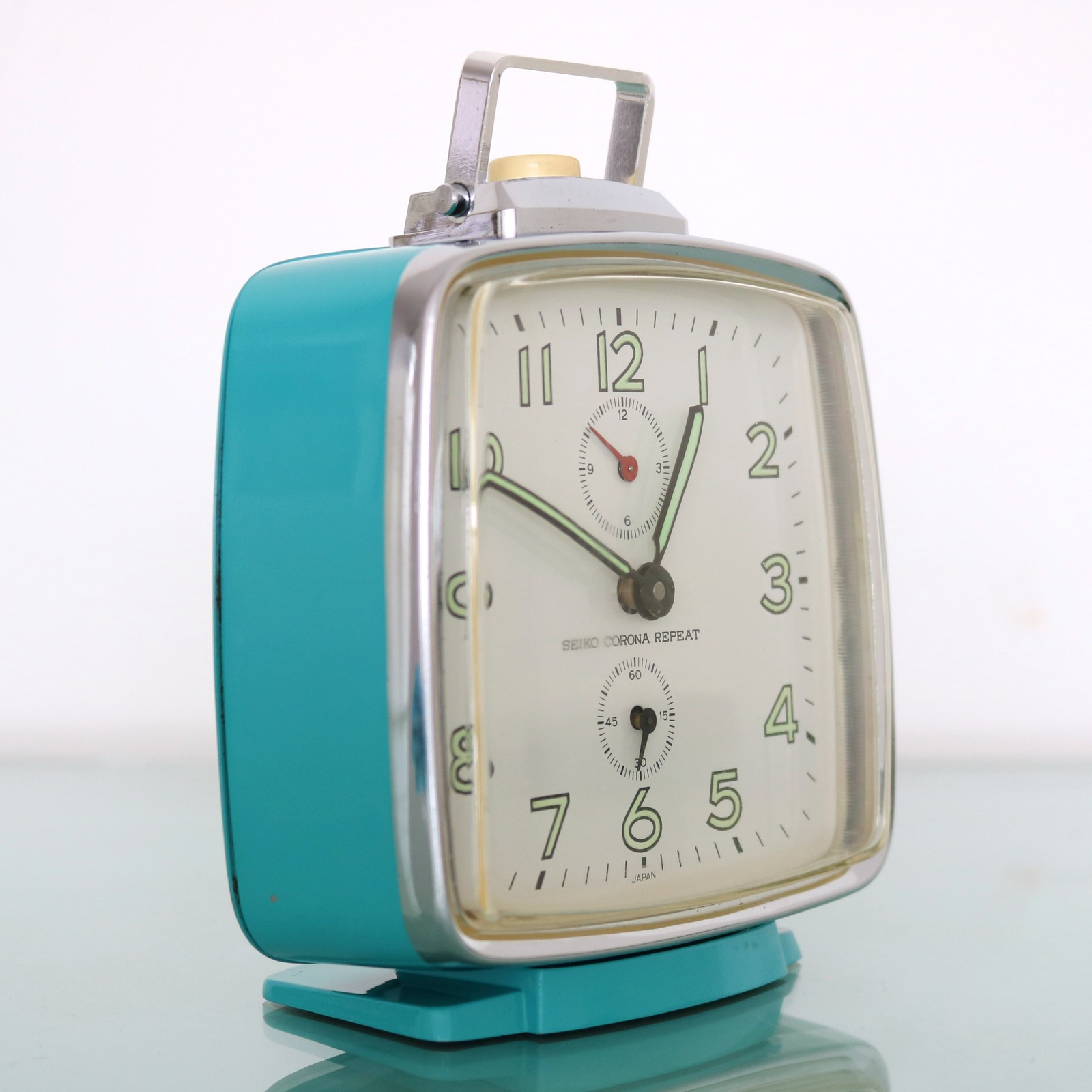 Primary image for SEIKO CORONA REPEAT Alarm Vintage Clock SUPERB! Condition RETRO 1960's SERVICED!