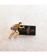 AUTHENTIC 1996 ATLANTA Olympic Games Men's Table Tennis PIN w/HOLOGRAPHI... - $6.44